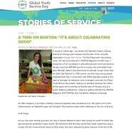 Featured Story of Service