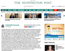 Contributing Teen Writer Huffington Post