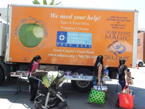 North County Food Bank Truck